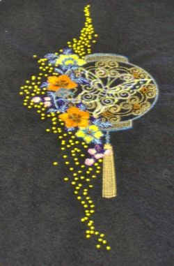 Our test embroidery design