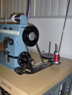 A separate bobbin winder is an advantage