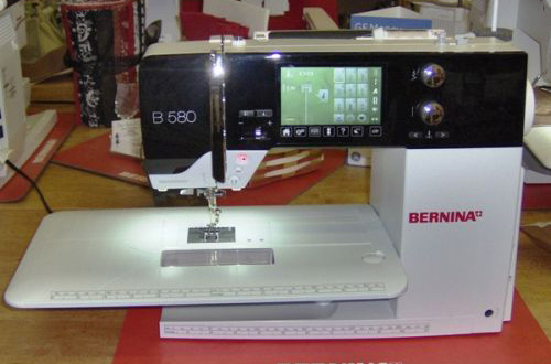 Bernina 580 Review | Sewing Insight