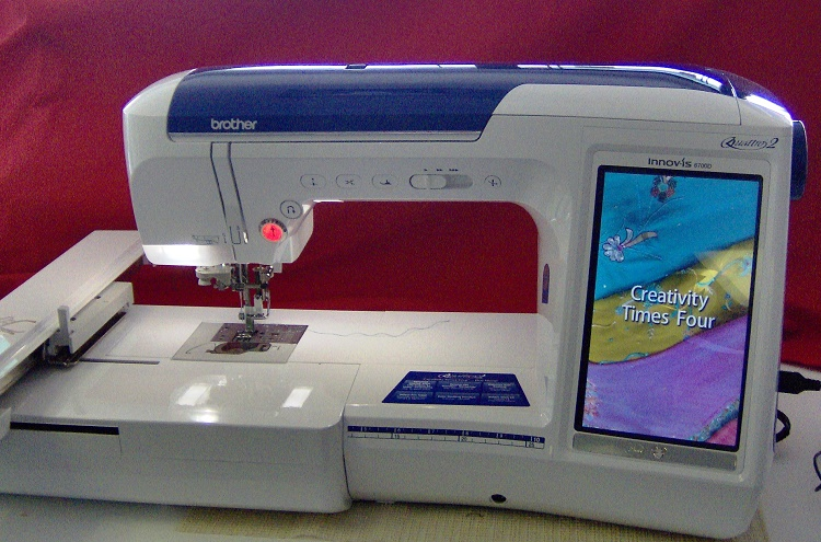 Brother Quattro 40 40D Review Sewing Insight Gorgeous Sewing Embroidery Machine Reviews 2015