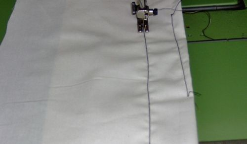 A straight stitch only machine