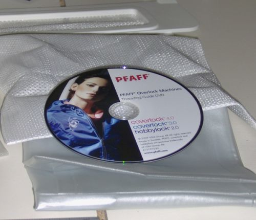 An interactive DVD detailing threading instructions