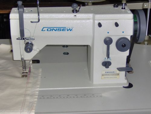 Consew CN 2053 R-1, a heavy duty industrial sewing machine