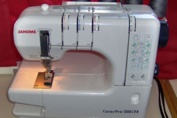 Janome Coverpro 1000CPX is a specialty machine