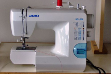 Juki HZL 25Z, a truly portable sewing machine