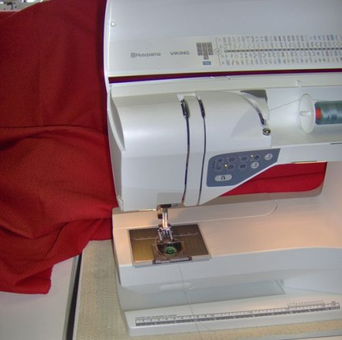 Wind the bobbin without thread removal