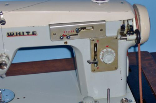 Vintage White Zigzag Review Sewing Insight Interesting White Sewing Machine