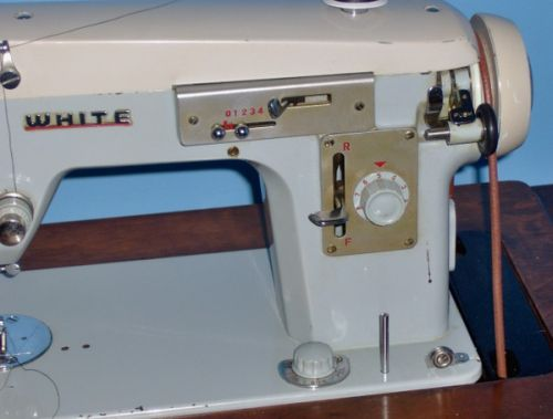 Vintage White Zigzag Review Sewing Insight Extraordinary Sewing Machine Parts Store