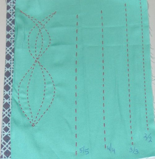 Adjustable stitch length and spacing
