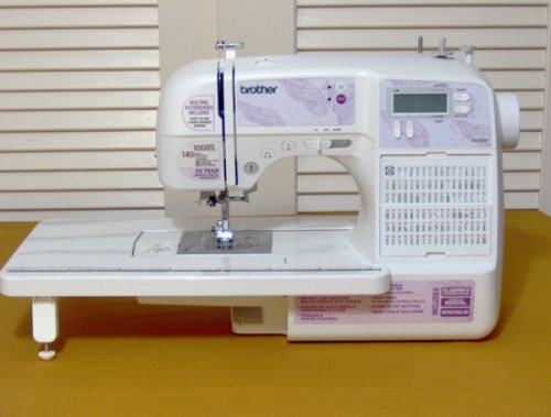 Brother SQ 40 Review Sewing Insight Impressive Brother Computerized Sewing And Quilting Machine Hc7140