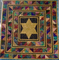 Judaica crafts and Judaic themed quilts