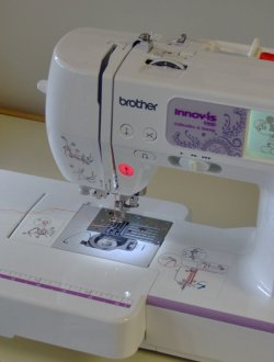 Easy to attach and remove the embroidery unit extension table