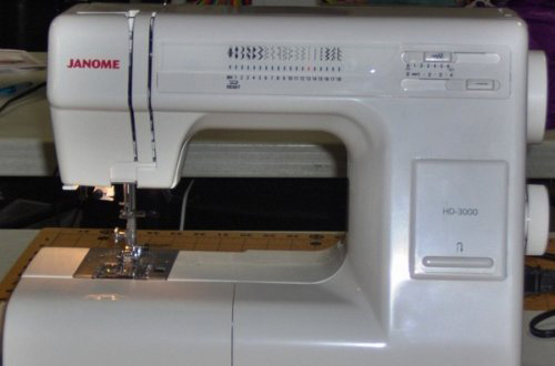 Janome hd 3000 review sewing insight for Janome hd3000