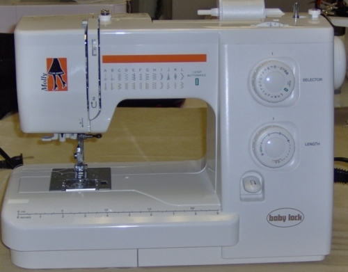 babylock molly sewing machine