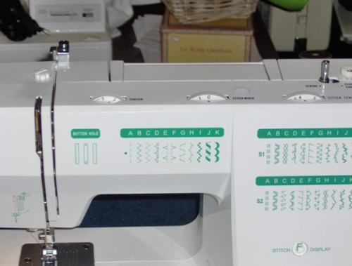 pro deluxe sewing machine