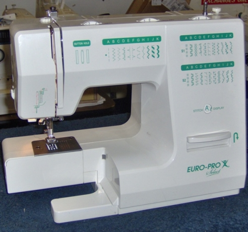 Euro Pro X Select Review Sewing Insight Unique Euro Pro Denim And Silk Sewing Machine