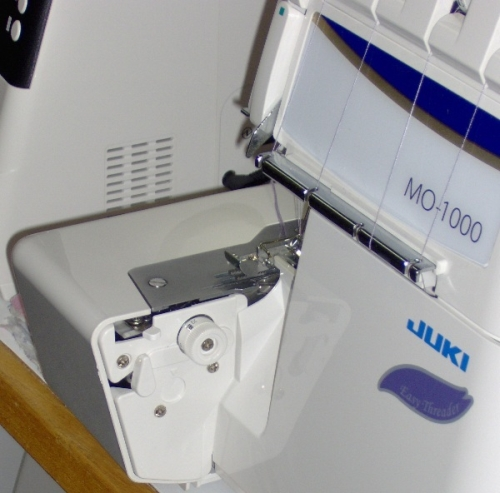 An ideal serger for beginners