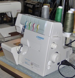 User friendly serger with great stitch quality