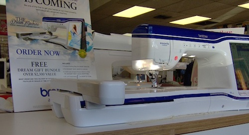 Brother Dream Machine Review Sewing Insight Magnificent Brother Dream Catcher Sewing Machine