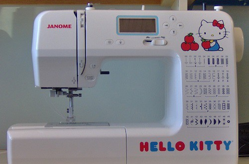 Janome Hello Kitty 40 Review Sewing Insight Amazing Janome Hello Kitty Sewing Machine
