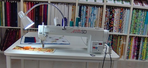 Janome Artistic Quilter SD 18 Review | Sewing Insight : tin lizzie quilting machine reviews - Adamdwight.com