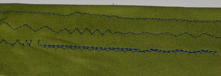 Well defined, sturdy and secure stitches