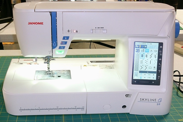 Janome Skyline S9 Review Sewing Insight